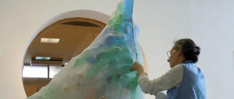 Una balena nel Museo del Marmo di Carrara