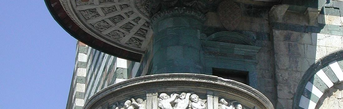 Nuovi restauri per i marmi del pulpito di Donatello